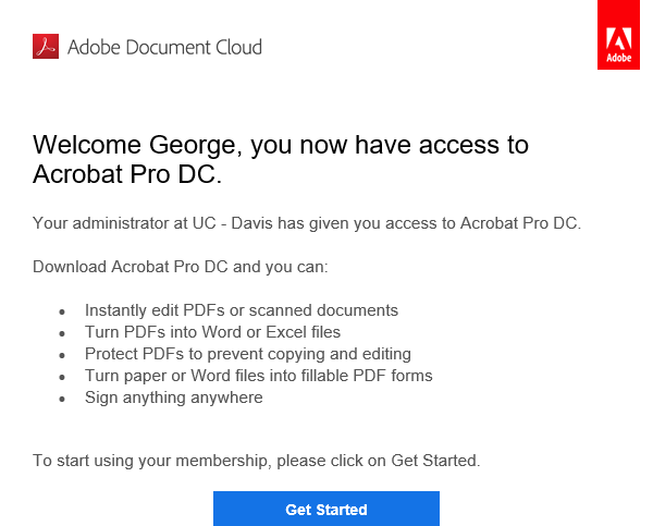 Adobe Acrobat DC Pro Installation and Setup | IT Help Site